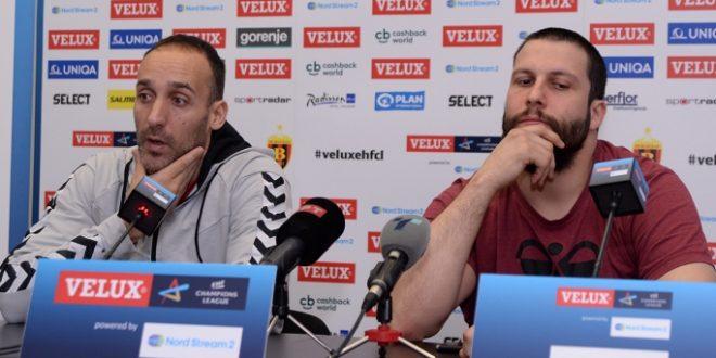 """(ФОТО) """"Вардар"""" денеска пред тежок дуел со """"Веспрем"""" во Лига на шампионите: """"Подготвени сме за предизвикот!"""" вели Стоилов"""