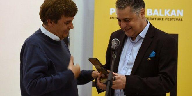 """Басара и Попов ги примија наградите """"Прозарт"""" и го збогатија друштвото на првокласни писатели на """"Про-За Балкан"""""""