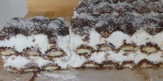 """(ВИДЕО) """"Чупавац торта"""": Непечен крем десерт со наједноставна подготовка!"""