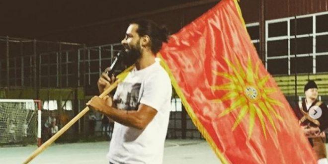 """(ФОТО) ЗА """"Некст Тајм"""" постои само патриотизам: На настапи со македонското знаме од Кутлеш!"""