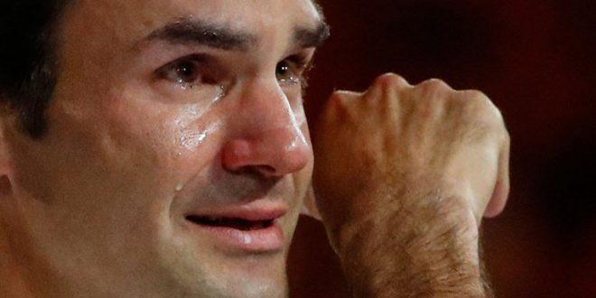 """РОЏЕР ФЕДЕРЕР ПРИЗНАЛ: """"После поразот од Ѓоковиќ ги воздржував солзите, но потоа во соблекувалната…"""""""