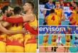 """(ФОТО) Историска победа на македонските одбојкари на ЕП во Словенија: """"Падна"""" Белорусија!"""