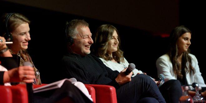 """(ФОТО) Новинарска проекција на филмот """"Врба"""" пред повеќе од 80 медиуми од светот"""