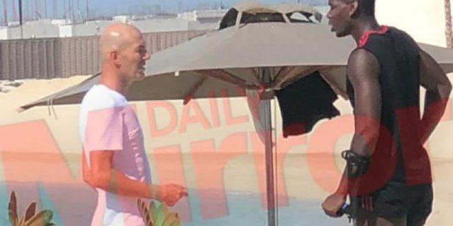 Што правеле Зидан и Погба во Дубаи: Солскер тоа не сака да го знае!