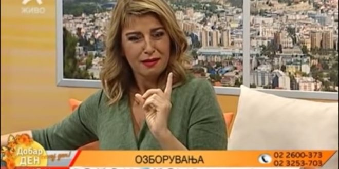 """(ВИДЕО) АКО СТЕ ПРОПУШТИЛЕ – Славица на Алфа ТВ во живо: """"Јас само чекам да водам љубов со љубовникот додека мажот не е тука, а него ем не го бива ем озборува!"""""""