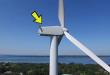 (ВИДЕО) Со дрон ја снимал околината а на врвот на ветерницата затекнал необичен призор!