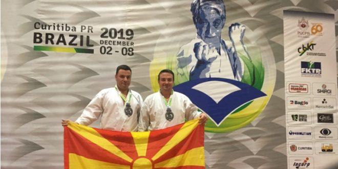 """Бронзен медал на Светското првенство во """"ен-бу"""" за Дејан и Аљоша Недеви"""