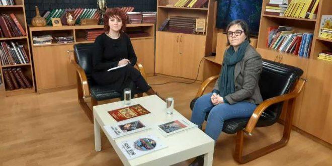 """""""Лица и дела"""" вечерва со Мери Младеновска и др. Инес Црвенкоска"""
