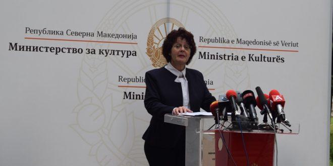 Заштитата на културното наследство, младите и евроинтеграциите – трите главни столба во мандатот на министерката за култура Стефоска
