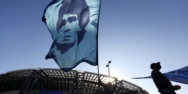 """(ФОТО) Официјално е: Добре дојдовте на стадионот """"Диего Армандо Марадона"""""""