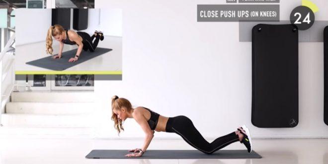 (ВИДЕО) Тренинг дома кој бргу дава резултати: Го затегнува и обликува баш секој мускул во телото!