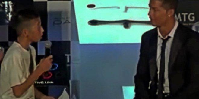 (ВИДЕО+ФОТО) На момче од Јапонија му се смееле кога на Роналдо му го рекол својот сон: Еве каде е денес!