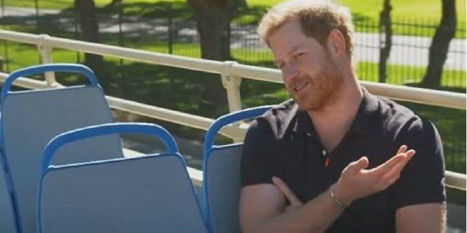 """(ВИДЕО) Принцот Хари открил што мисли за серијата """"Круна"""" – би можеле да се изненадите!"""