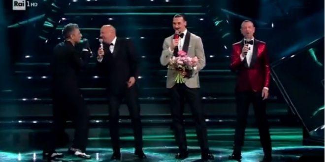 (ВИДЕО) Најлуд настап во историјата на Санремо: Погледнете ја изведбата на Ибрахимовиќ и Михајловиќ!