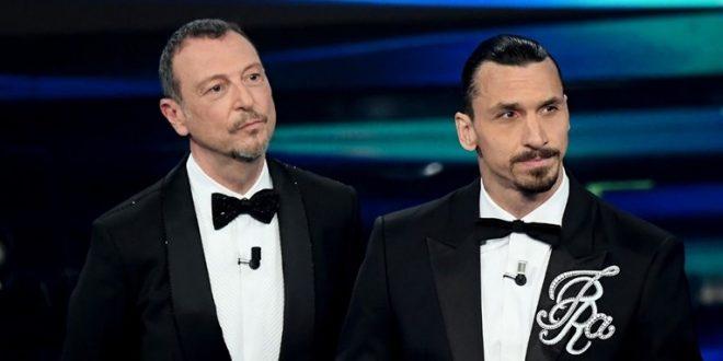 """(ВИДЕО) Ибрахимовиќ на """"Сан Ремо 2021"""" излегол со култниот фолк хит"""