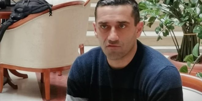 """(ФОТО) Кирил Лазаров стартуваше во новата улога: """"Подготвен сум и среќен за овој предизвик"""""""