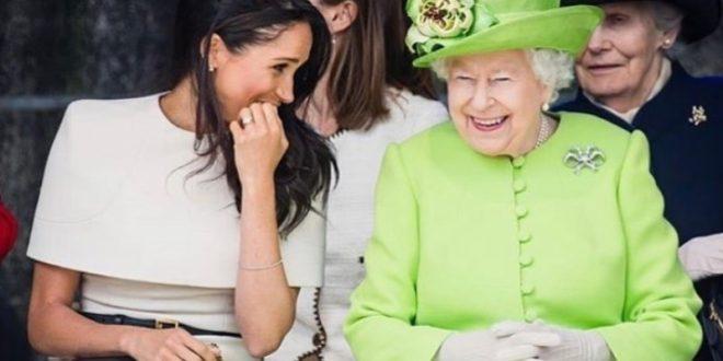 (ФОТО) Меган Маркл, со посебна посвета, и го честитала роденденот на кралицата!