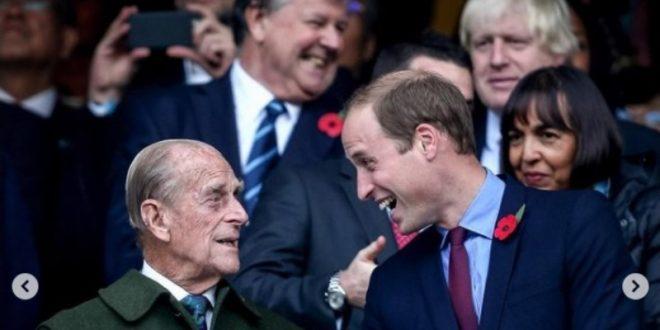 """(ФОТО) Принцот Вилијам на емотивен начин се прости од својот дедо, принцот Филип: """"Дедо ми беше исклучителен човек и дел од извонредна генерација!"""""""