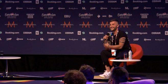 """ЕВРОВИЗИЈА 2021: Европската јавност за Васил Гарванлиев – """"Учиме многу од тебе!"""""""