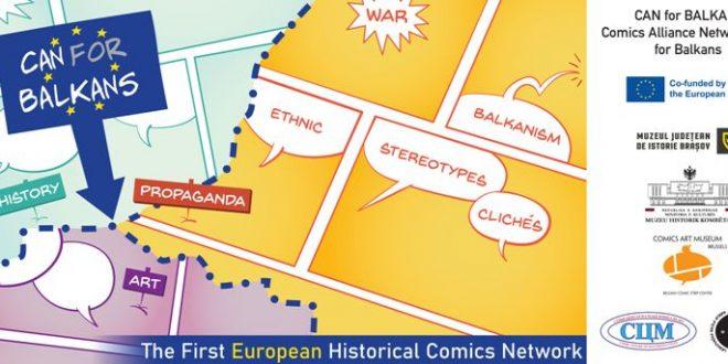 Од денес до 2. август во Тирана ќе се одржи CAN (Comic alliance Networking) FOR BALKANS