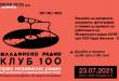 """Младинско радио """"Клуб 100"""" – прво независно радио во скопскиот и македонскиот етер:  35 години од стартувањето и 30 години од згаснувањето"""