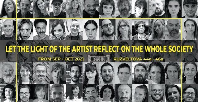 """""""Нека светлината од уметникот се одрази врз целата заедница""""(Let the light of the artist reflect on the whole society)"""