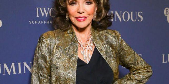 (ФОТО) Како навистина изгледа Џоан Колинс (88)? Објавена ретка фотографија на глумицата без перика!