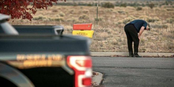 Се појавија фотографии од скршениот Болдвин по трагедијата на снимањето